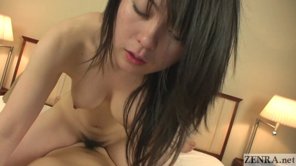 pov busty japanese amateur cowgirl sex