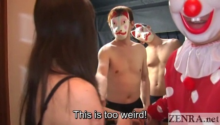 masked men escort nozomi hazuki
