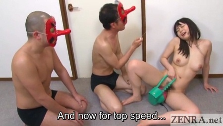 top speed dildo machine for japanese av star