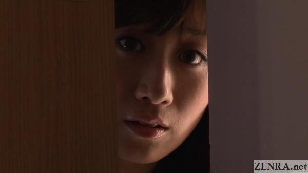 yuu kawakami watches escort at work