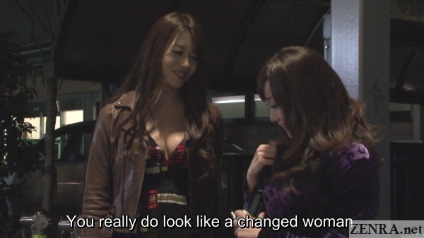 hojo maki with new call girl kawakami yuu