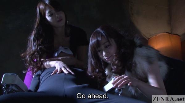 kawakami yuu admires zentai bulge