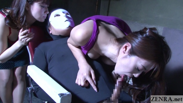 highly bizarre japanese nocturnal blowjob