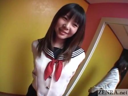 konomi sakura schoolgirl uniform