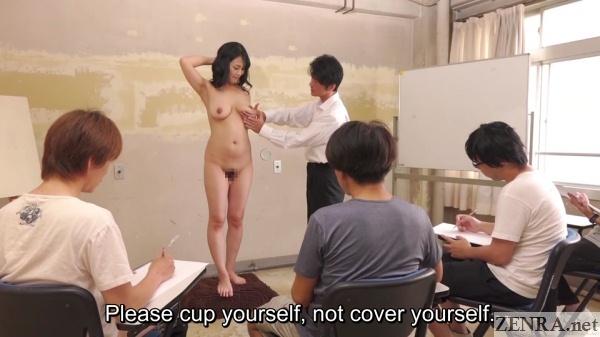 cmnf japanese nude art class