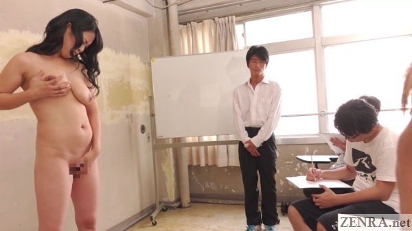 japan cmnf masturbating nude art model class