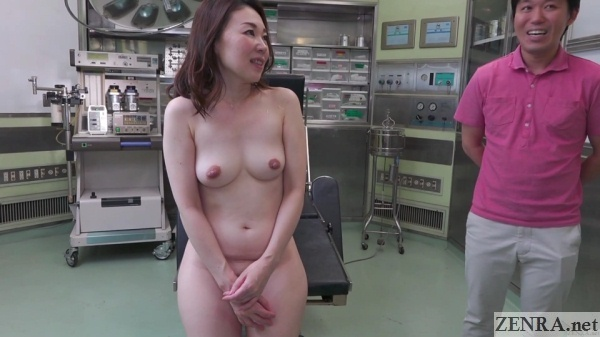 cmnf naked japanese woman in operating room