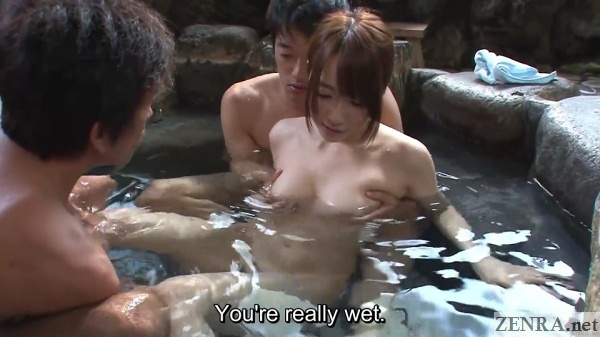 breast groping mixed bathing onsen in japan