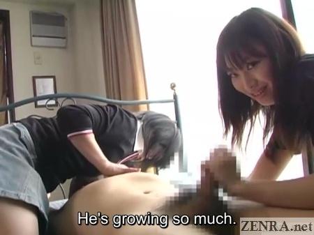 handjob teasing party in japan