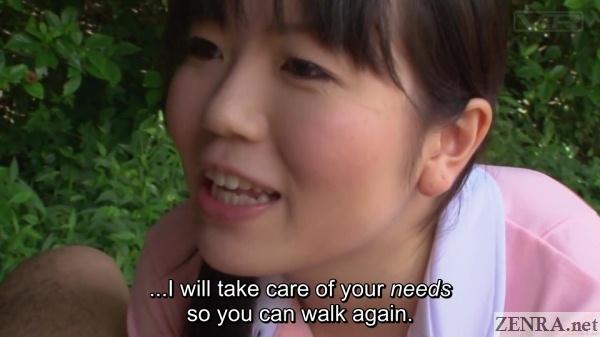 japanese caretaker yuma miyazaki wants to help