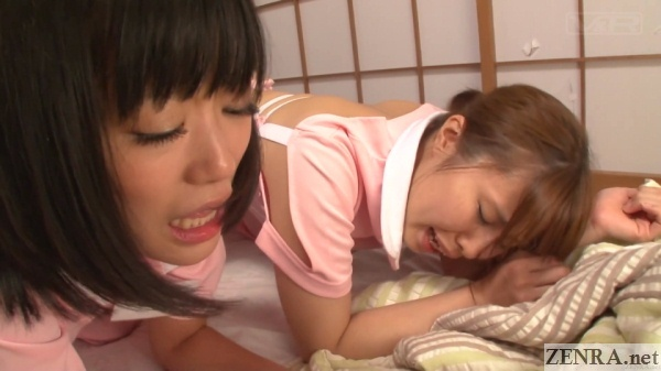 japanese caregivers have butts eaten out