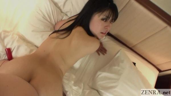 mao suzuki sex from behind looking at camera