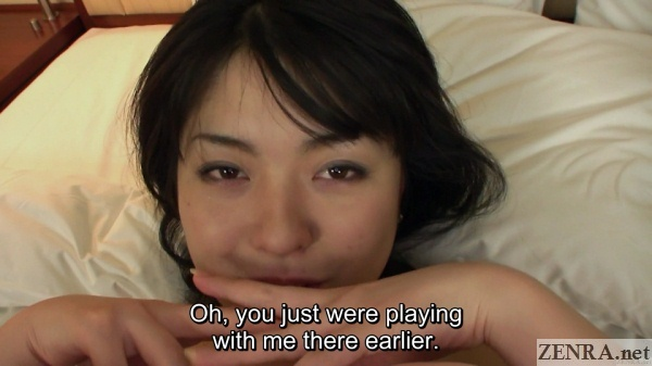 demure japanese amateur naked head shot