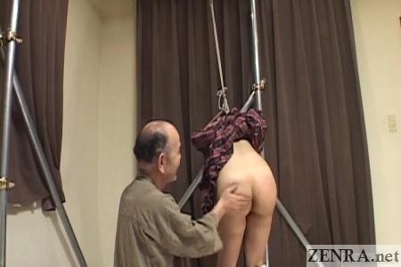 japanese bondage spanking