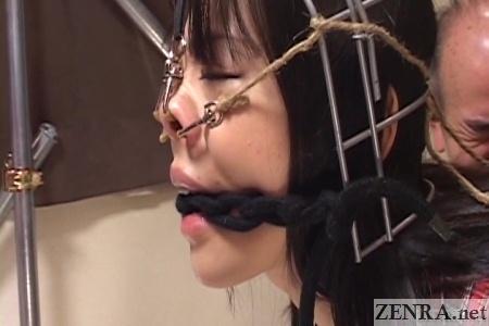 side shot nose hook bdsm in japan