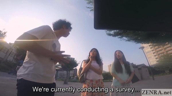 japanese nanpa survey technique in action