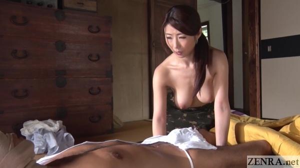 topless ayumi shinoda with husband ww story