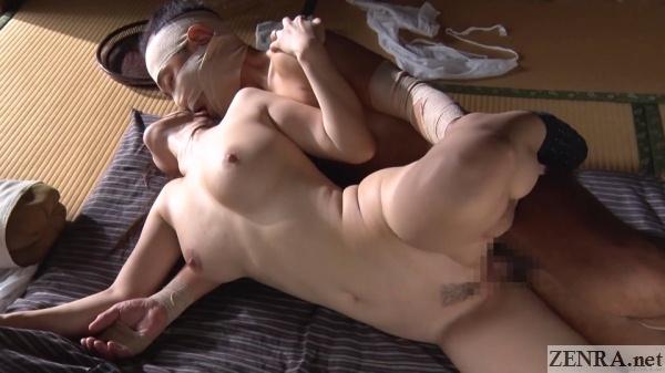 sex on futon japanese couple in s