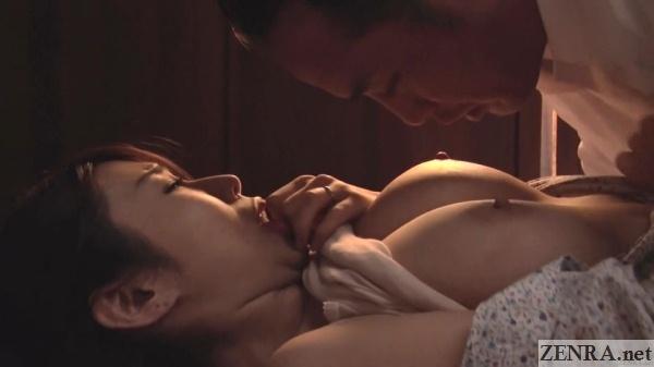 busty ayumi shinoda affair sex begins