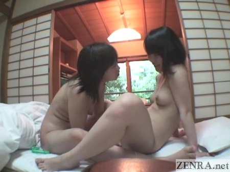 traditional japanese room naked lesbian fingering