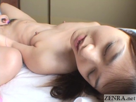 japanese woman sex toy exploration