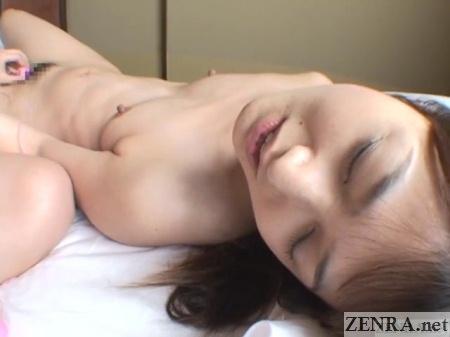 japanese woman sex toy exploration