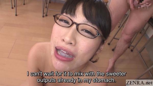 miki sunohara talks types of semen