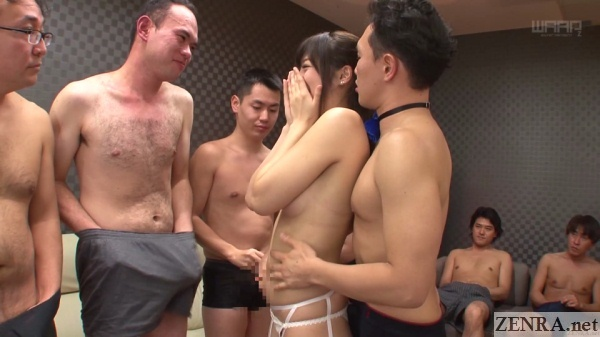 mixed juice man masturbates to surprised miki sunohara