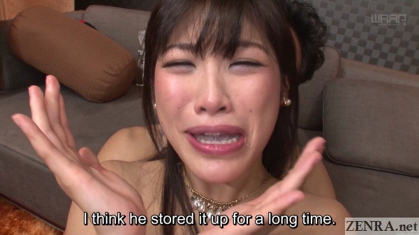 flushed sunohara miki cum in mouth