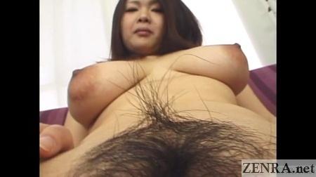 pubic hair angle of voluptuous japanese av star
