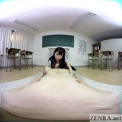 vr japanese schoolgirl blowjob