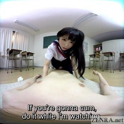 noa eikawa schoolgirl fantasy vr