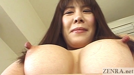 extremely pointy japanese nipples