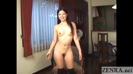 perky naked japanese amateur