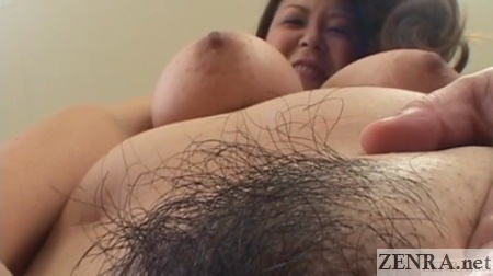 pubic hair zoomed in voluptuous japanese milf