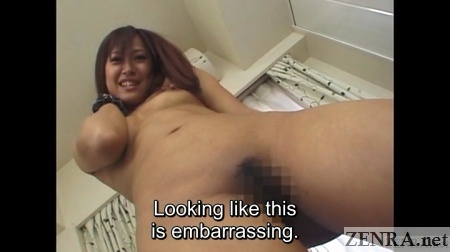 tan amateur japanese woman standing naked