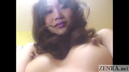 japanese woman with very pointy nipples