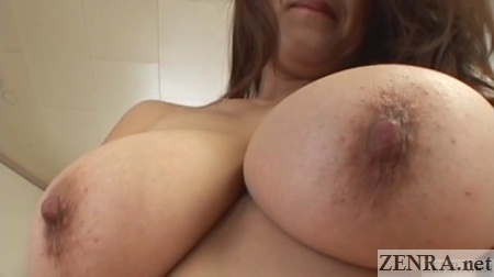 huge japanese breasts zoomed in