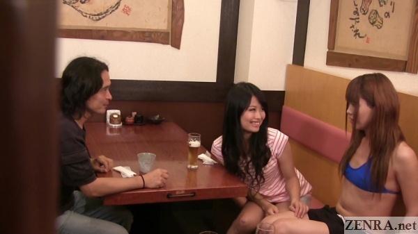 swinger couple with shy kaoru oshima