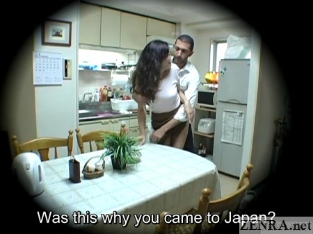 Subtitled japanese homestay gone wrong in hd - 2 6
