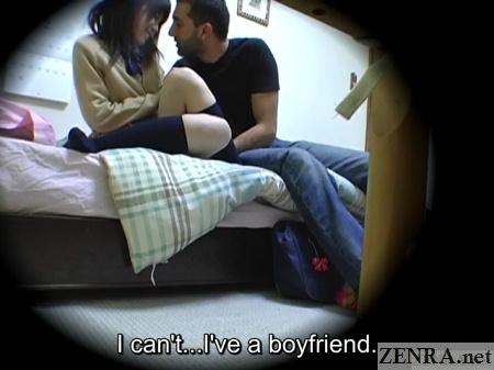 japanese schoolgirl admits having boyfriend