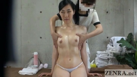 japanese breast oil massage