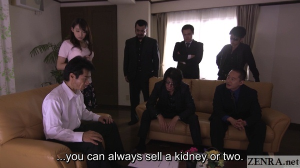 big fine imposed by yakuza