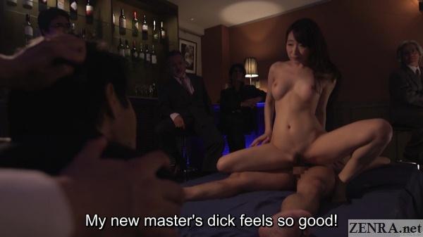 cowgirl sex cuckold kurea hasumi husband watches in shock