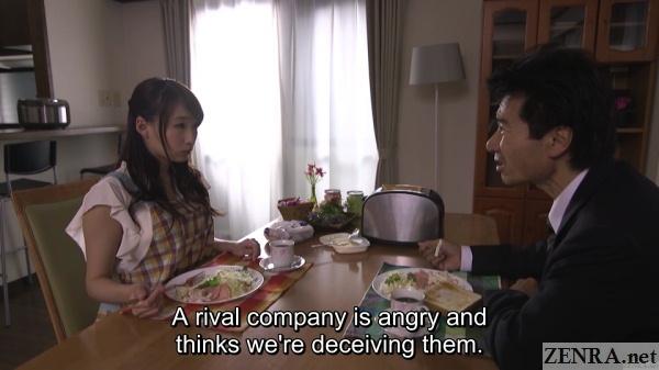 breakfast with kurea hasumi and husband
