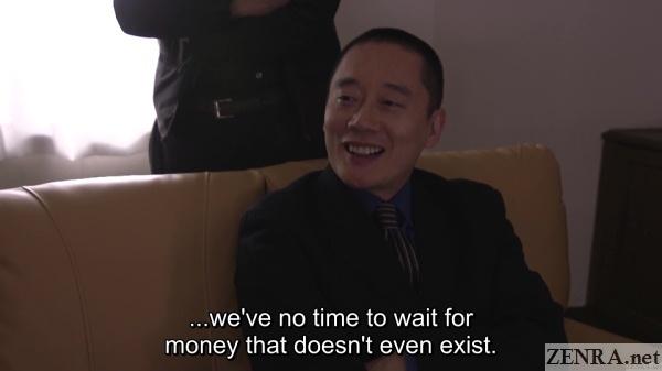 boss of yakuza sets the rules