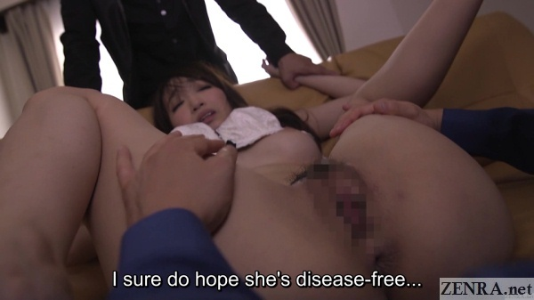spread eagle hasumi kurea housewife gone bad