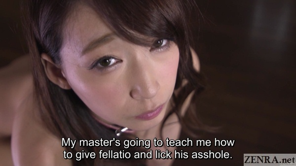blowjob and rimjob training for hasumi kurea