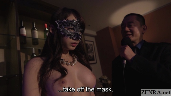 naked japanese wife wearing mask