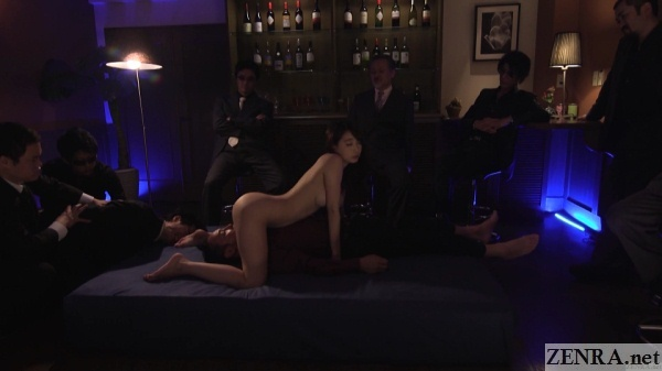 Subtitled unfaithful japanese wife gives actor a blowjob 2